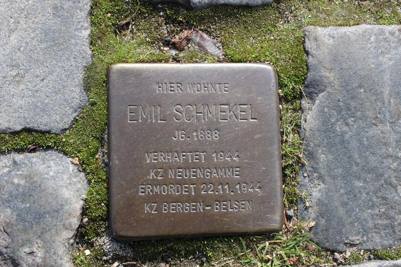 Stolperstein: Emil Schmekel