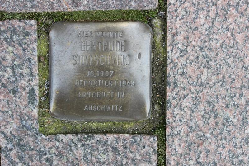 Stolperstein: Gertrude Stillschweig